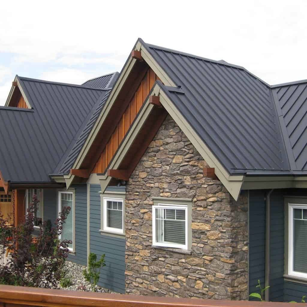 Metal Standing Seam For Residential Roofs Clearview